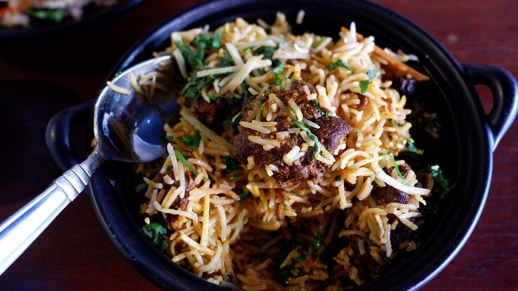 Maurya Indian Restaurants - Lamb Biryani