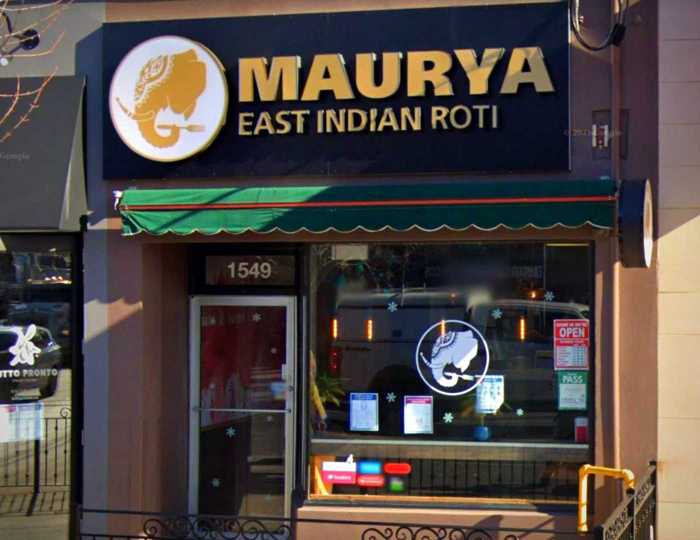 Maurya East Indian Roti -Bayview