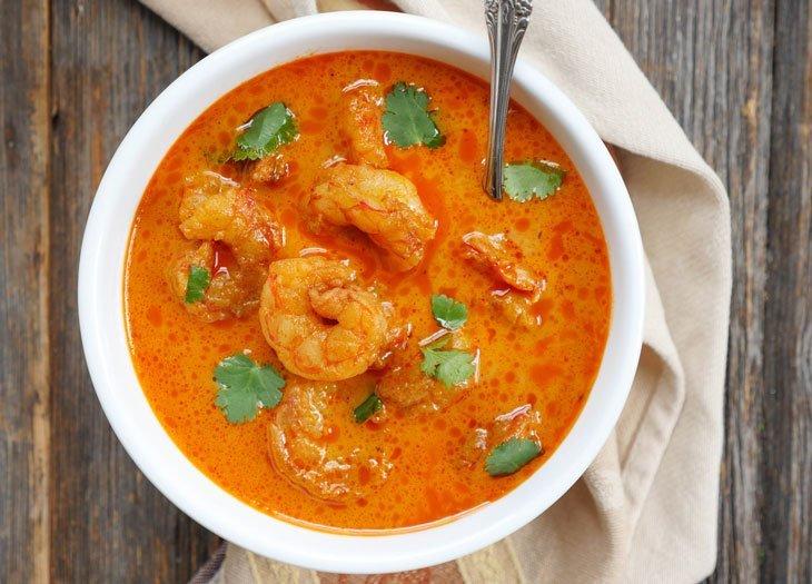Maurya Indian Restaurants - Shrimp Madras